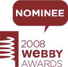 Webby Award Nominee 2008